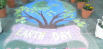 Celebration Happy Earth  Day   2017 at  P.P.J.S.Vihar, Nainital