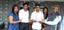 Devansh Gupta the Blooming Star of Our School
