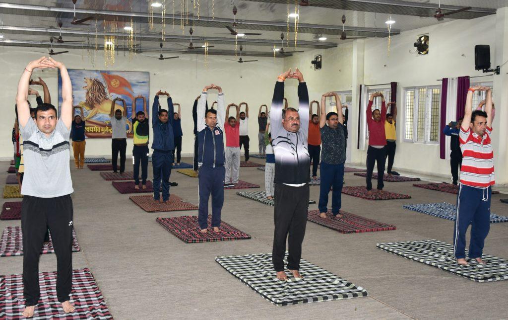 Yoga day Celebration in PPJ